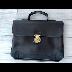 Louis Vuitton Robusta Briefcase Brown Leather